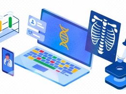 Google Cloud   Healthcare Life Sciences   Laptop X-Ray Microscope