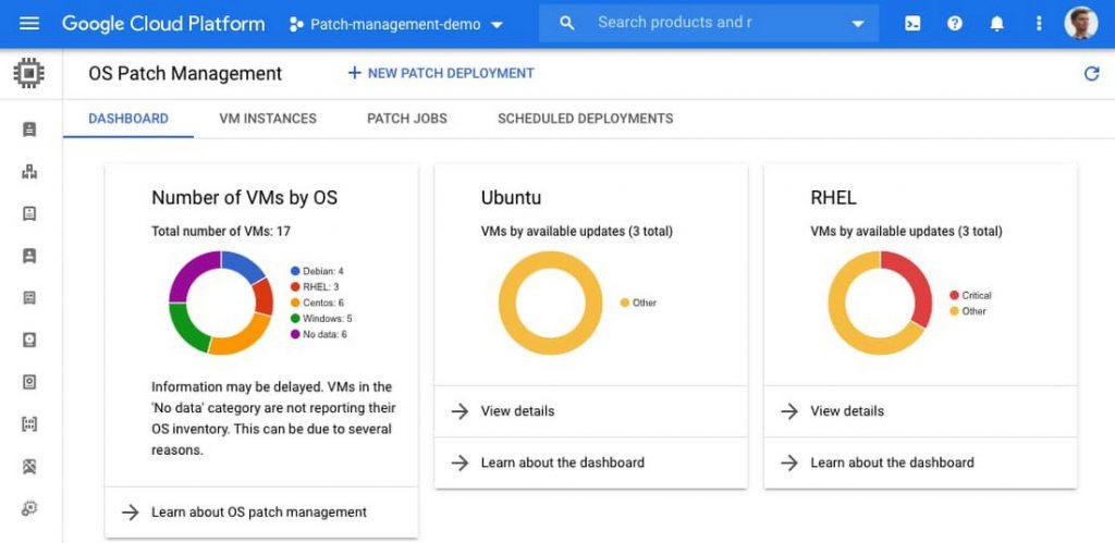 Google Cloud | Compute Engine | OS Patch Management