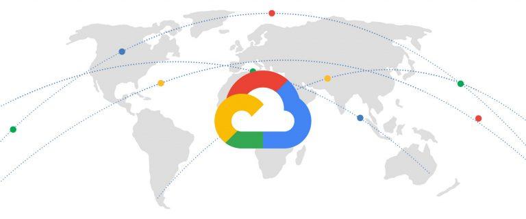 Google Cloud   World Map