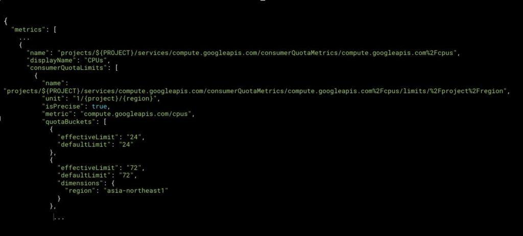 Service Usage API