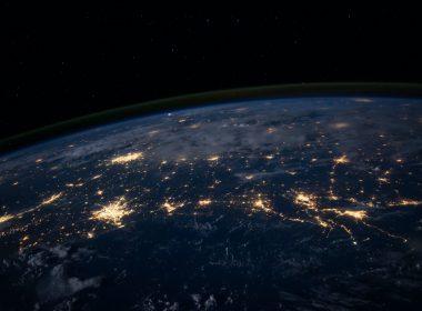 Network   Earth   World   Lights