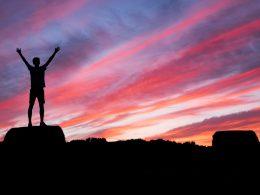 Success | Raise Arms | Sky